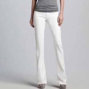MOTHER The Runaway Mirror Mirror Bootcut Jeans